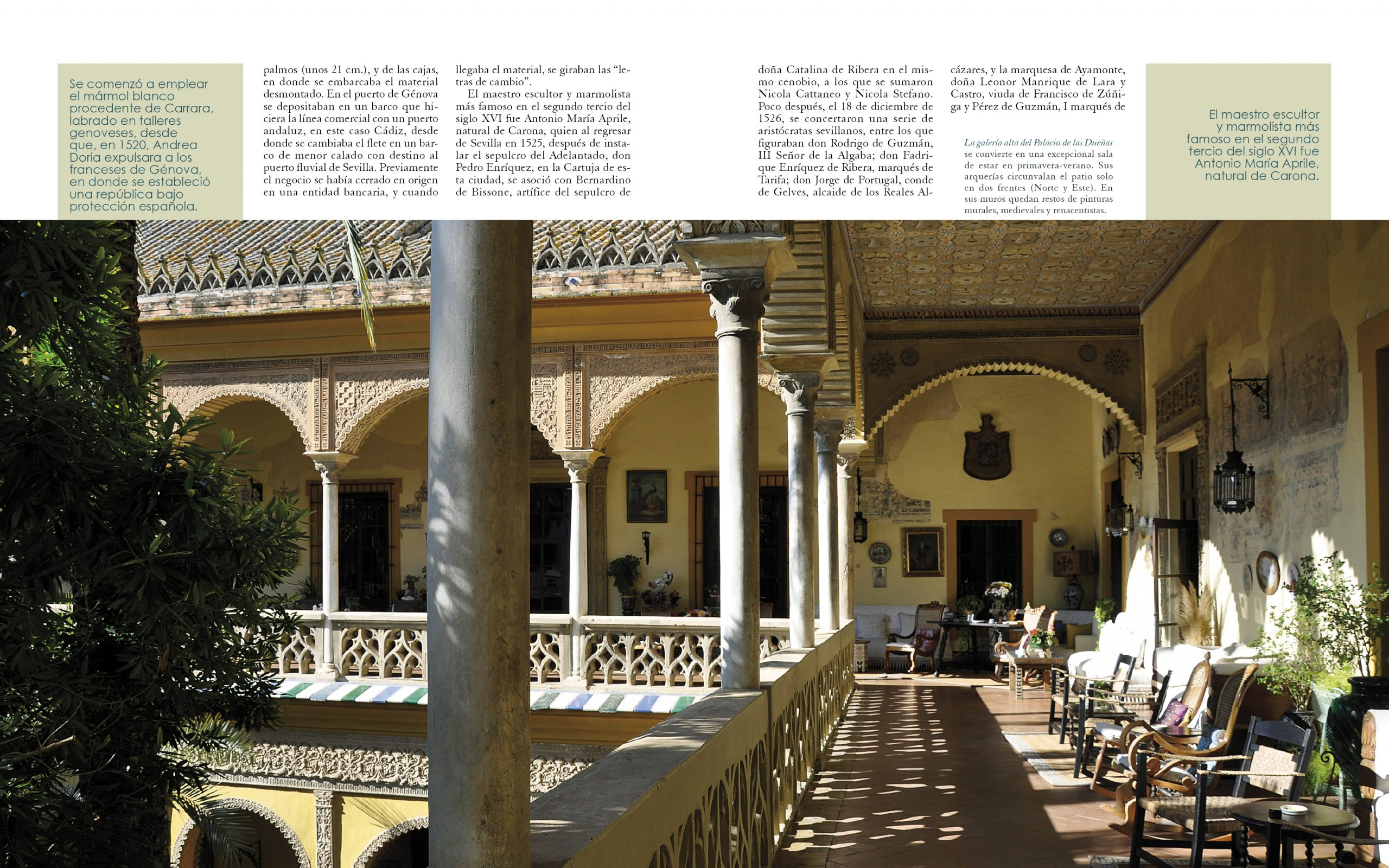 Casas Sevillanas - Maratania Casa de las Dueñas