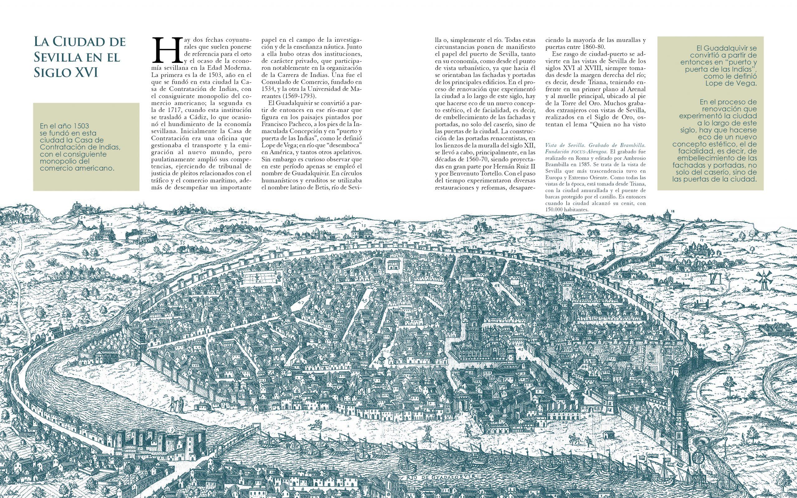 Casas Sevillanas - Sevilla en el siglo XVI