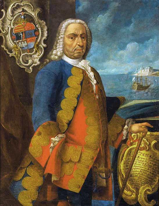 Eñ Almirante Manuel López Almonacid Pintado - Marqués de Torreblanca del Aljarafe