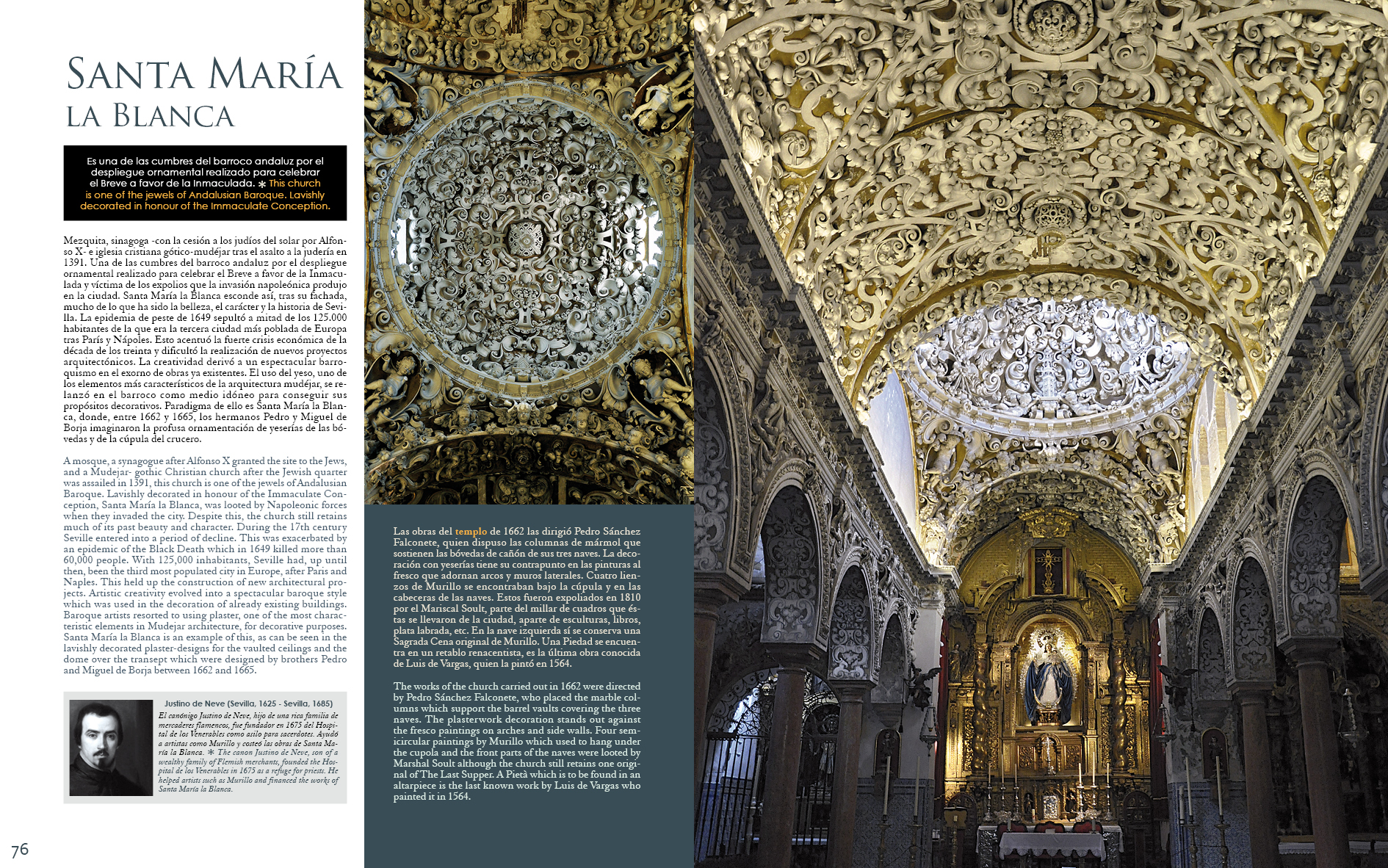 Santa María La Blanca en y Sevilla