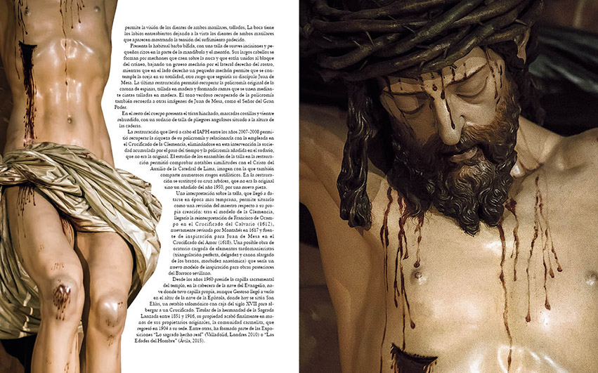 El Cristo de los Desamparados en MONTAÑÉS de Manuel Jesús Roldán y Fran Silva
