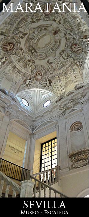 Escalera Museo Bellas artes sevilla