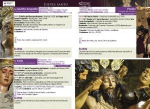 Programa de Semana Santa de Blogosur