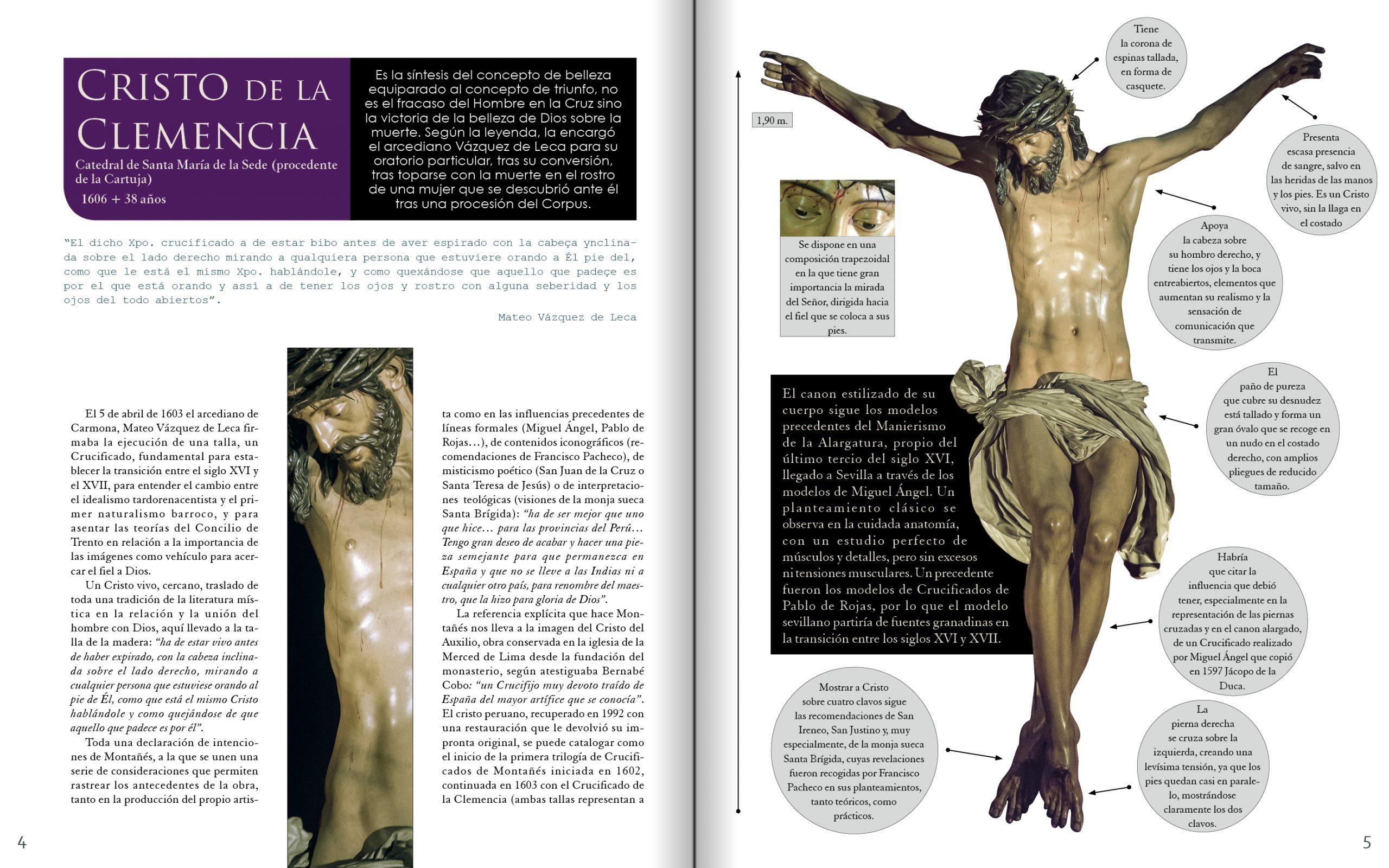 El Cristo de la Clemencia en MONTAÑÉS de Manuel Jesús Roldán y Fran Silva