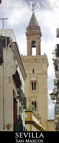 La torre de San Marcos desde la calle Castellar