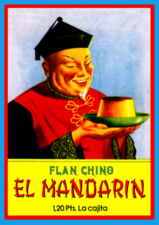 Flan chino el mandarín