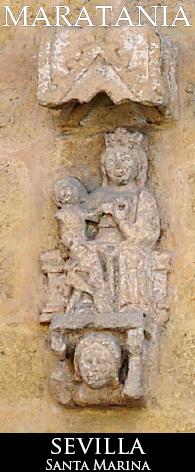Santa Marina con su hijo