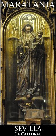 Virgen del Pilar Catedral de Sevilla