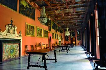 Casas Sevillanas - Maratania Salón Principal Placio Arzobispal.