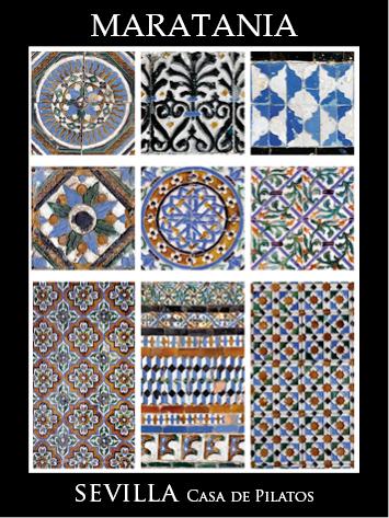 azulejos casa pilatos