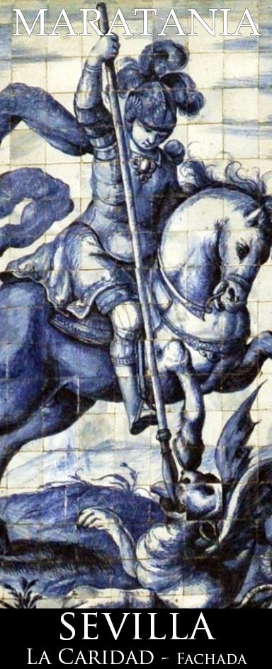 San Jorge,espejo de la caballería, romano y cristiano, que lanceas al dragón pagano, idolátrico e hijo de Satanás, escucha a Amadís, Tirante y Don Quijote que te invocan para que resurja el nesesario ejercicio de caballero, socorro de necesitados, de viudas y de huérfanos.