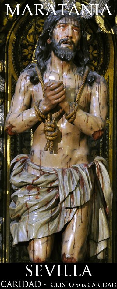 """""""… antes de entrar Cristo en la Pasión hizo oración y a mí me vino el pensamiento que sería esta la forma como estaba. Y así lo mandé hacer porque así lo discurrí."""" Actas de la Caridad - Miguel de Mañara"""