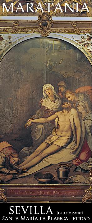 santa maria la blanca piedad de luis de vargas