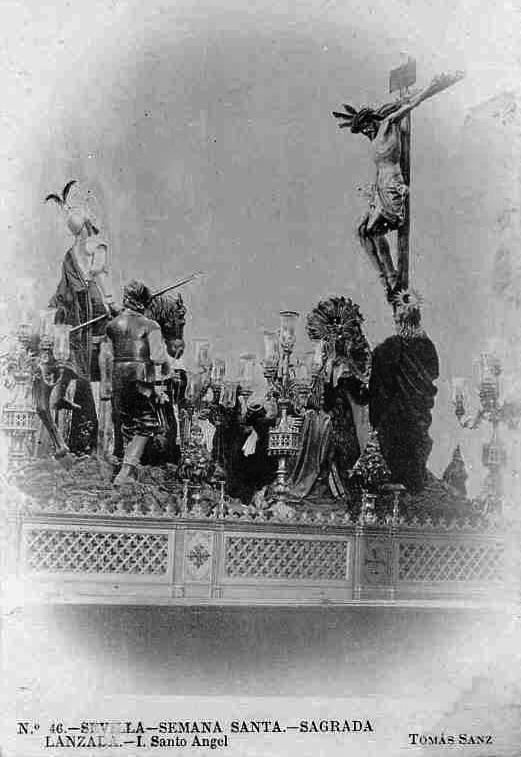 El Cristo de los Desamparados de Montañés en la paso de la Lanzada