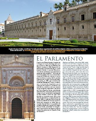 """El Parlamento en nuestro libro """"y Sevilla"""""""