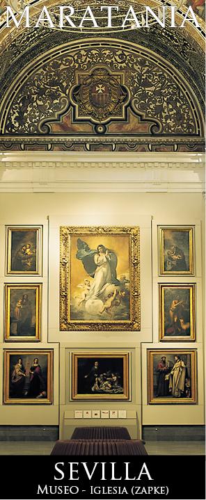 Pinacoteca iglesia Museo de bellas artes sevilla