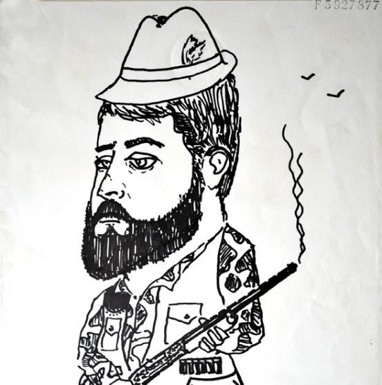 Caricatura de Juan Antonio Campor Espina