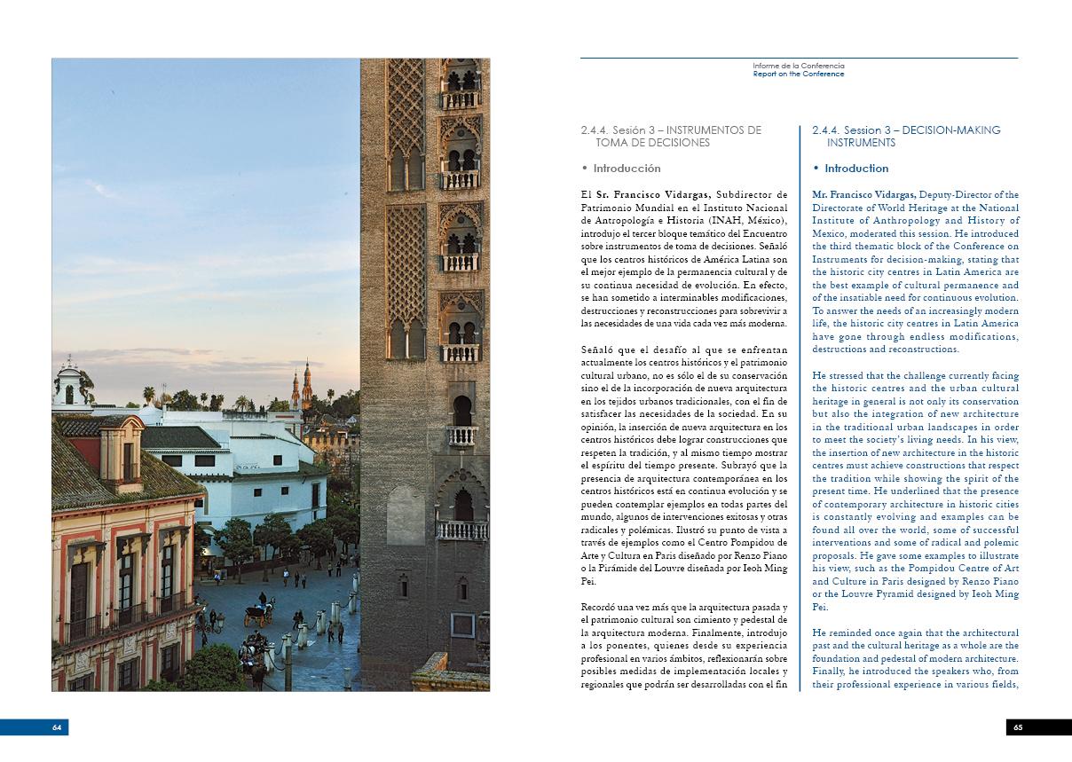 ENCUENTRO INTERNACIONAL DE ARQUITECTURA CONTEMPORÁNEA EN CIUDADES HISTÓRICAS33
