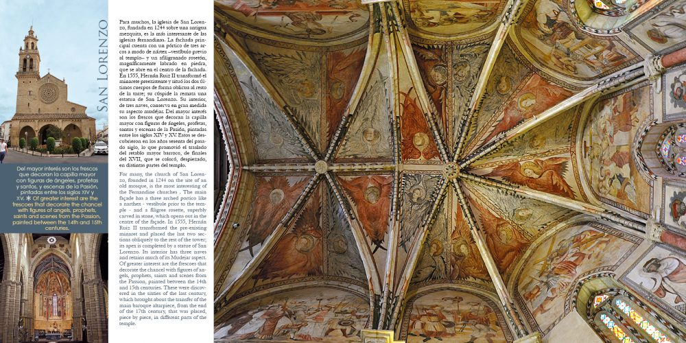 "La Iglesia de San Lorenzo en el libro ""Córdoba y su Provincia"" de Maratania"