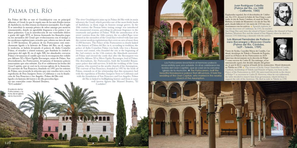"""El palacio Portocarrero en el libro de Maratania """"Córdoba y su Provincia"""""""