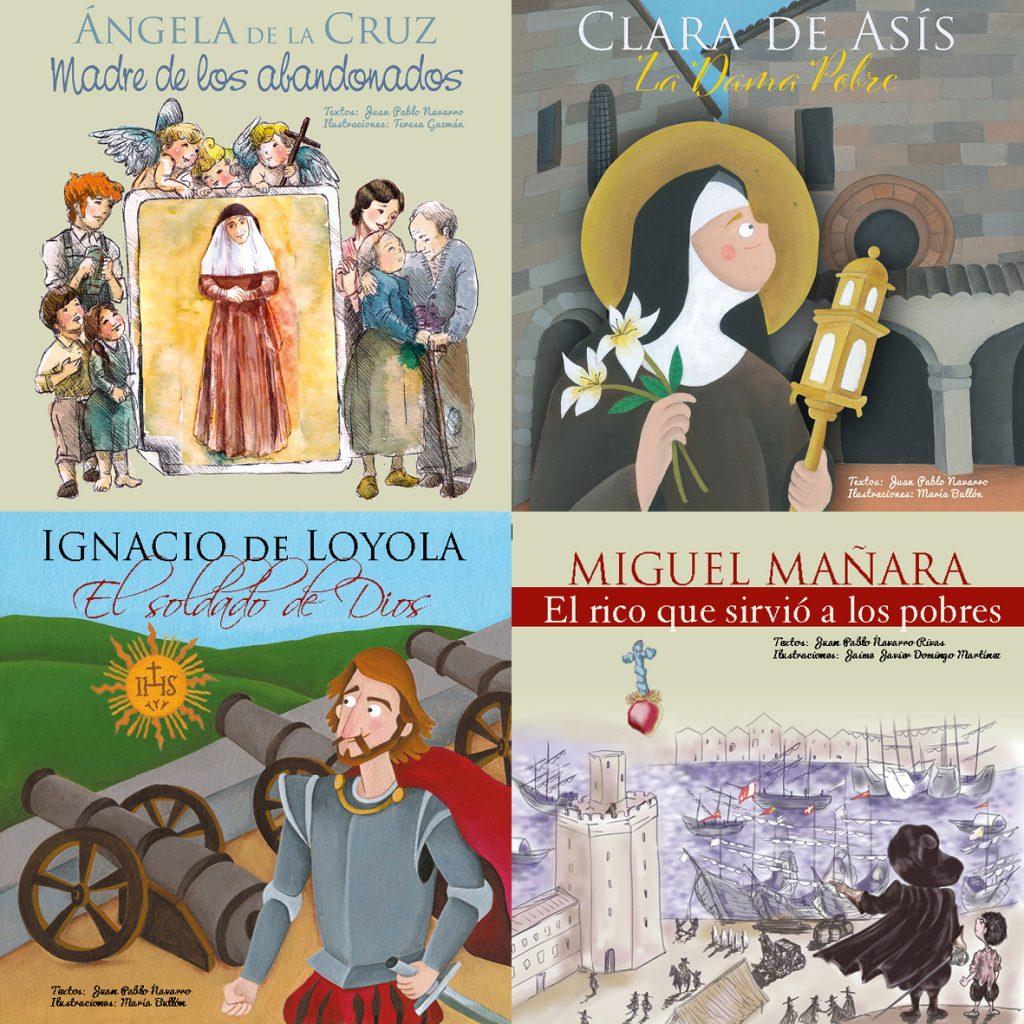 Colección de cuentos de vidas de santos de Maratania
