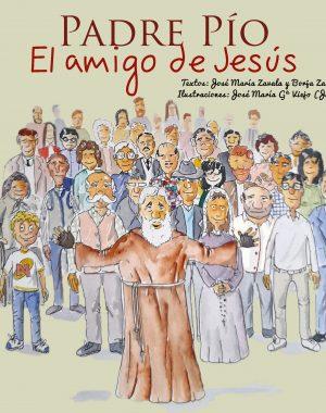 Portada Padre Pío El amigo de Jesús